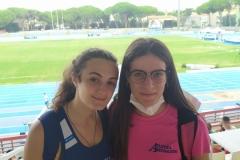 Ilaria Accame e Irene Cassinelli a Grosseto