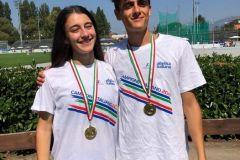 Campioni italiani allievi su pista 2020